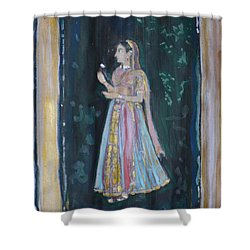 Raj Kumari Shower Curtain