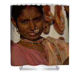 Shower Curtain featuring the photograph Rajasthan by Travel Pics