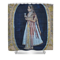 Rajasthani Queen Shower Curtain