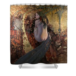 Raku Shower Curtain