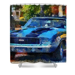 Rally Sport Shower Curtain