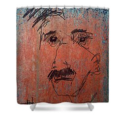 Ralphy Shower Curtain by Jim Vance
