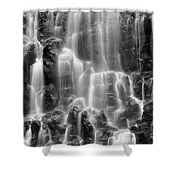 Ramona Falls Close-up Shower Curtain