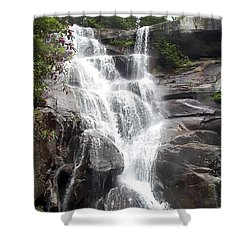 Ramsay Cascade Smoky Mountains National Park Shower Curtain