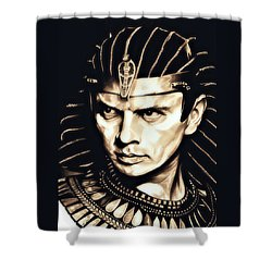 Ramses II Shower Curtain by Fred Larucci