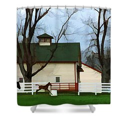 Ramsey Farm Shower Curtain