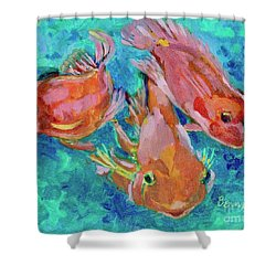 Ramshead Goldfish Shower Curtain