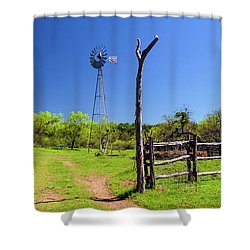 Ranch At Click Gap II Shower Curtain