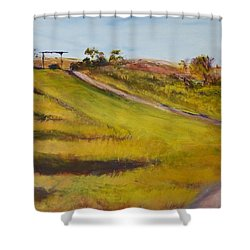 Ranch Entrance Shower Curtain