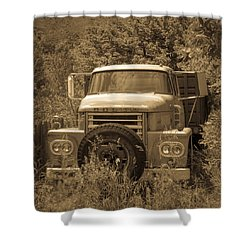 Ranch Truck Shower Curtain