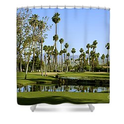 Rancho Mirage Golf Course Shower Curtain