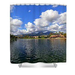 Rancho Santa Margarita Lake Shower Curtain