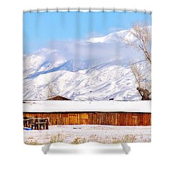 Ranchstyle Shower Curtain