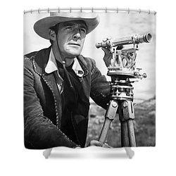 Randolph Scott (1898-1987) Shower Curtain by Granger
