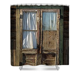 Randsburg Door No. 1 Shower Curtain
