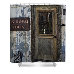 Randsburg Door No. 2 Shower Curtain