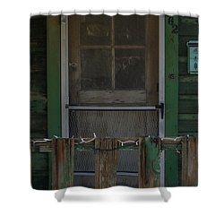 Randsburg Door No. 3 Shower Curtain