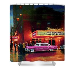 Randy R's Love Me Tender Shower Curtain