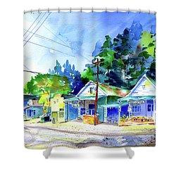 Randy's Dutch Flat Shower Curtain