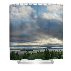 Rangeley Lake Shower Curtain