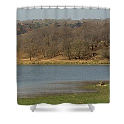 Ranthambore National Park Shower Curtain