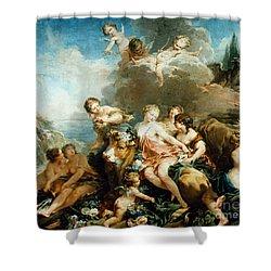Rape Of Europa Shower Curtain by Granger