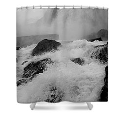Rapid Stream Shower Curtain