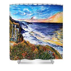 Rapturous Sunset Shower Curtain