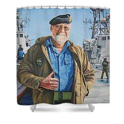 Ras Shower Curtain by Tim Johnson
