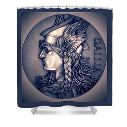 Rasberry Goddess Of Gaul Shower Curtain by Fred Larucci