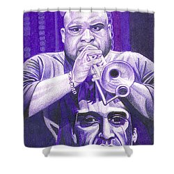 Rashawn Ross Shower Curtain