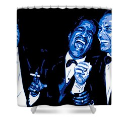 Rat Pack At Carnegie Hall Shower Curtain