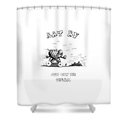 Shower Curtain featuring the drawing Rat Rv - Just Livin The Dream by Kim Gauge