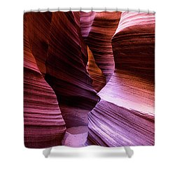 Shower Curtain featuring the photograph Rattlesnake Canyon by Stephen Holst