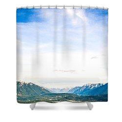 Rattlesnake Ledge 3 Shower Curtain