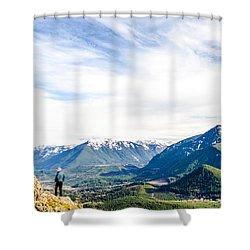 Rattlesnake Ledge Shower Curtain