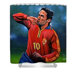 Raul Gonzalez Blanco Shower Curtain