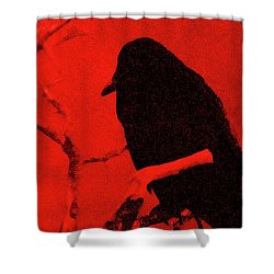 Raven Shower Curtain