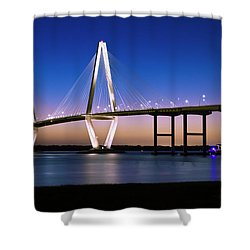 Ravenel Bridge 2 Shower Curtain