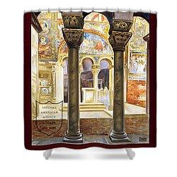 Ravenna, Travel Poster 1925 Shower Curtain