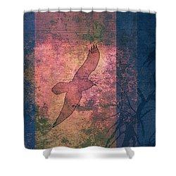 Ravens Shower Curtain