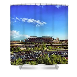 Ravens Stadium Shower Curtain