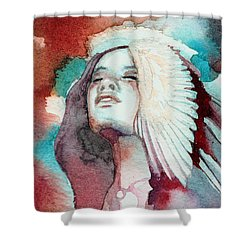 Ravensara Shower Curtain