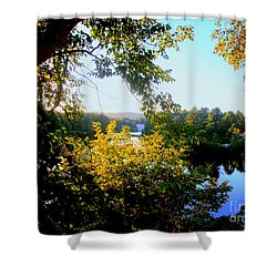 Shower Curtain featuring the photograph Rawdon by Elfriede Fulda