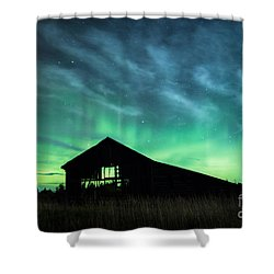 Who Left The Lights On? Shower Curtain