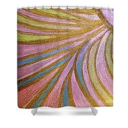 Rays Of Hope Shower Curtain by Rachel Hannah