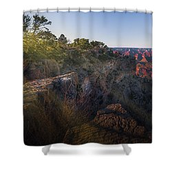 Rays Over The Canyon  Shower Curtain
