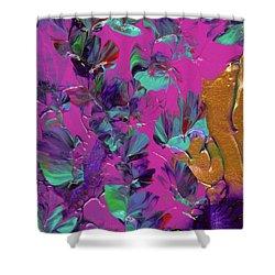 Razberry Ocean Of Butterflies Shower Curtain