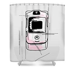 Razor Shower Curtain