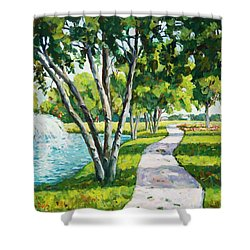 Rcc Golf Course Shower Curtain